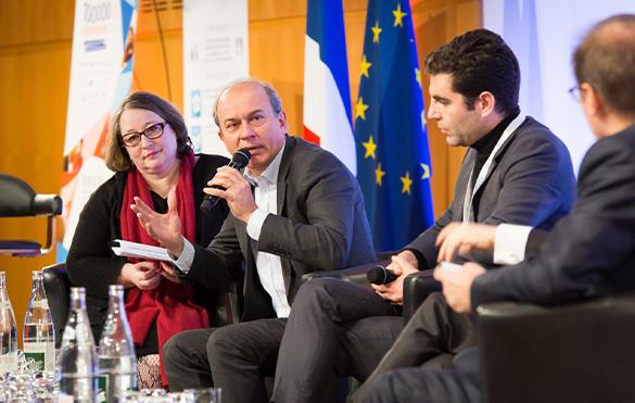 Conférence annuelle des entrepreneurs à Bercy