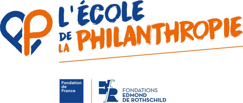 Logo L'Ecole de la Philanthropie