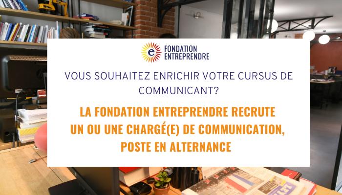 Rejoignez la Fondation Entreprendre!