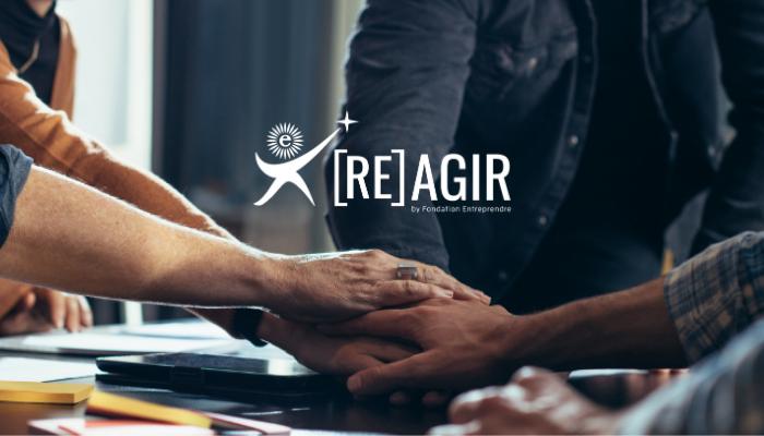 REbondir et AGIR en trois clics avec la Fondation Entreprendre !